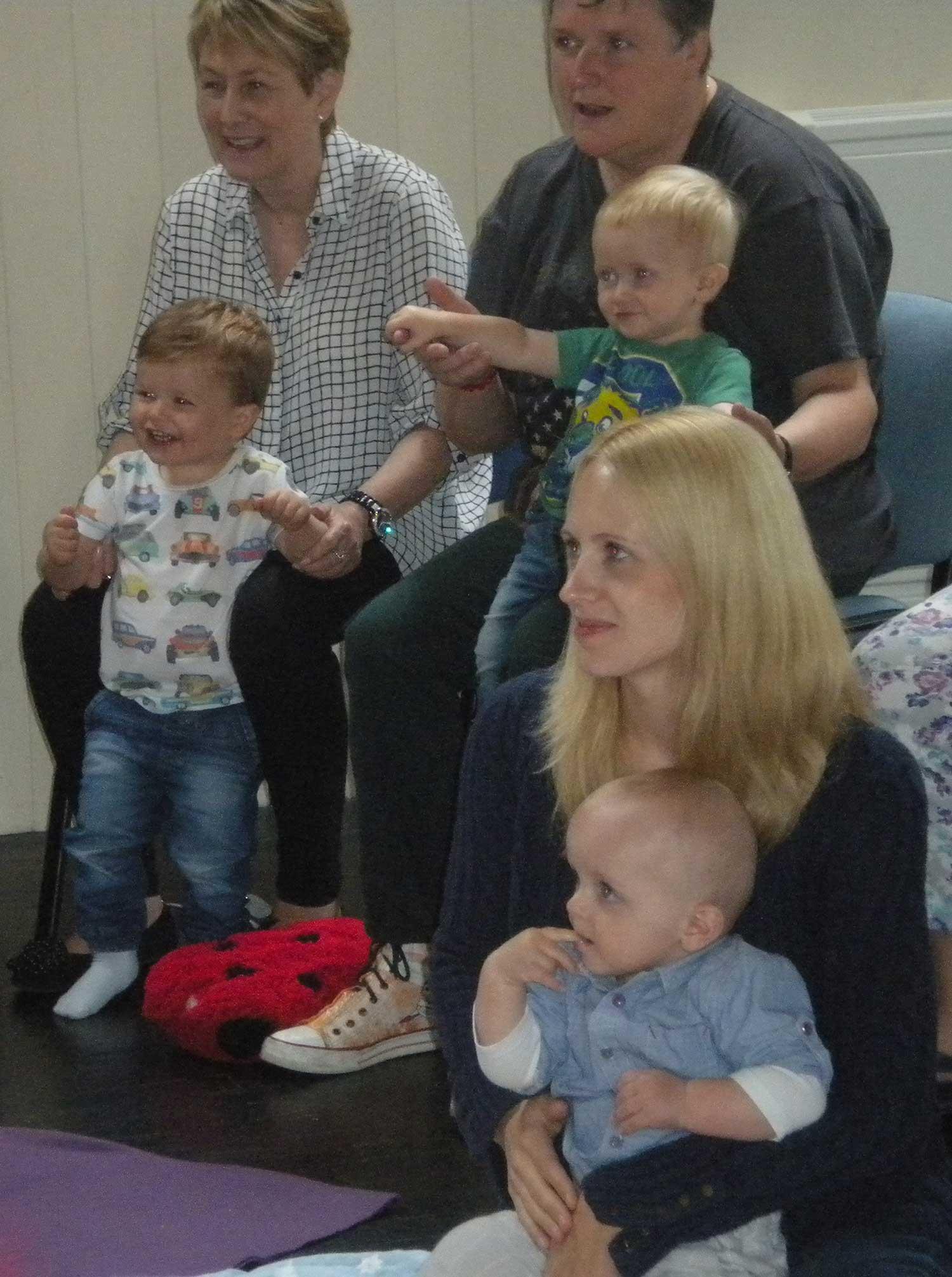 Musitots audience watching Rachel